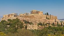 Vista de la Acropolis