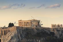 Vista del Partenón y Erecteón