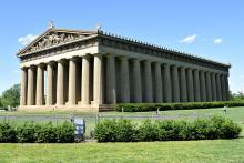 Réplica del Partenon en nashville(Tennessee-USA)