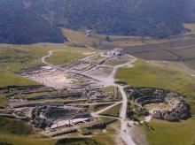 Vista aérea de Segobriga