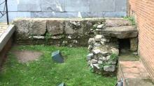 Resto muralla Gijón